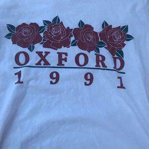 Brandy Melville Oxford White T-Shirt